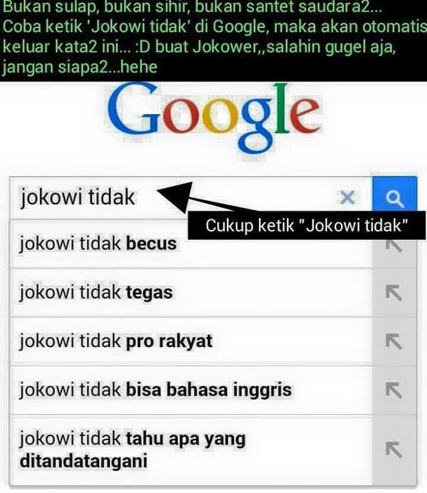 """Netizen beberapa hari ini geger dengan """"ulah"""" Google. Seperti ..."""