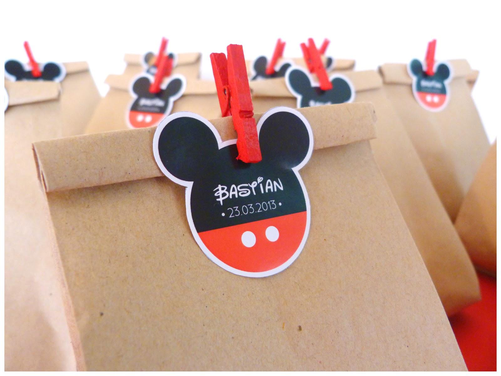 La tiendita party studio cumplea os mickey minnie - Bolsas de regalo personalizadas ...