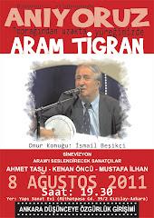 Aram'ı anıyoruz
