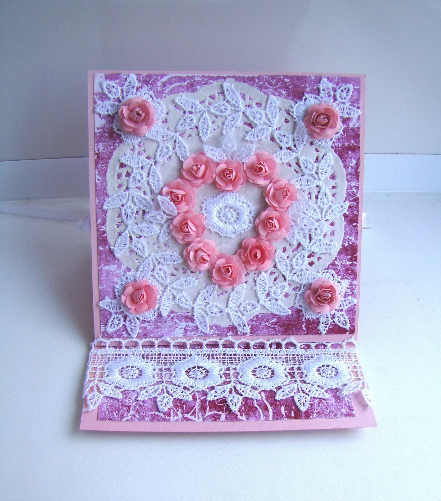 открытка день валентина с сердцем