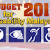 Budget 2012 for Disability Malaysia