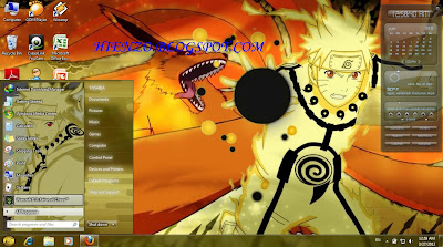Download Tema Naruto Kyuubi Untuk Windows7