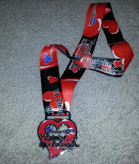 J and A race medal