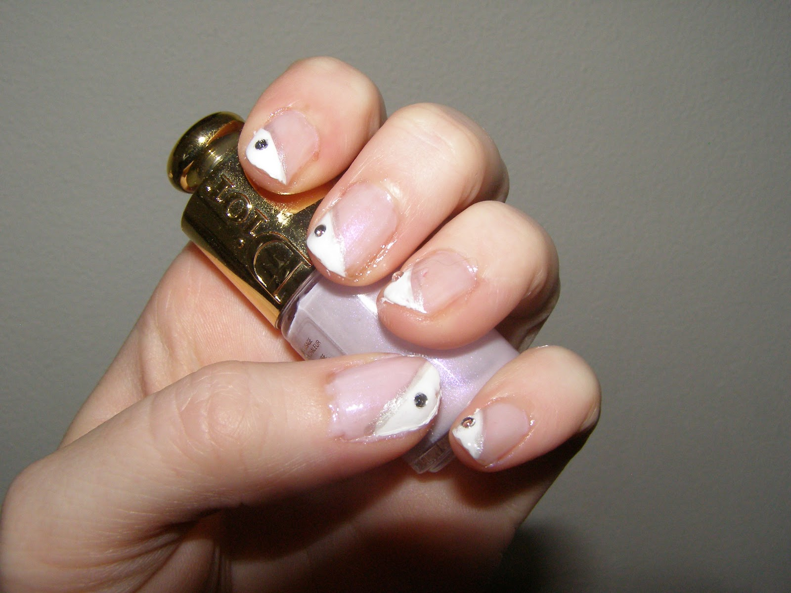 Polish Lover: Funky french mani...