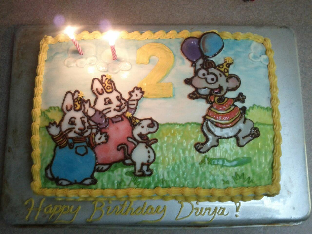 cupcakes grow on my tree toopy and binoo max and ruby cake