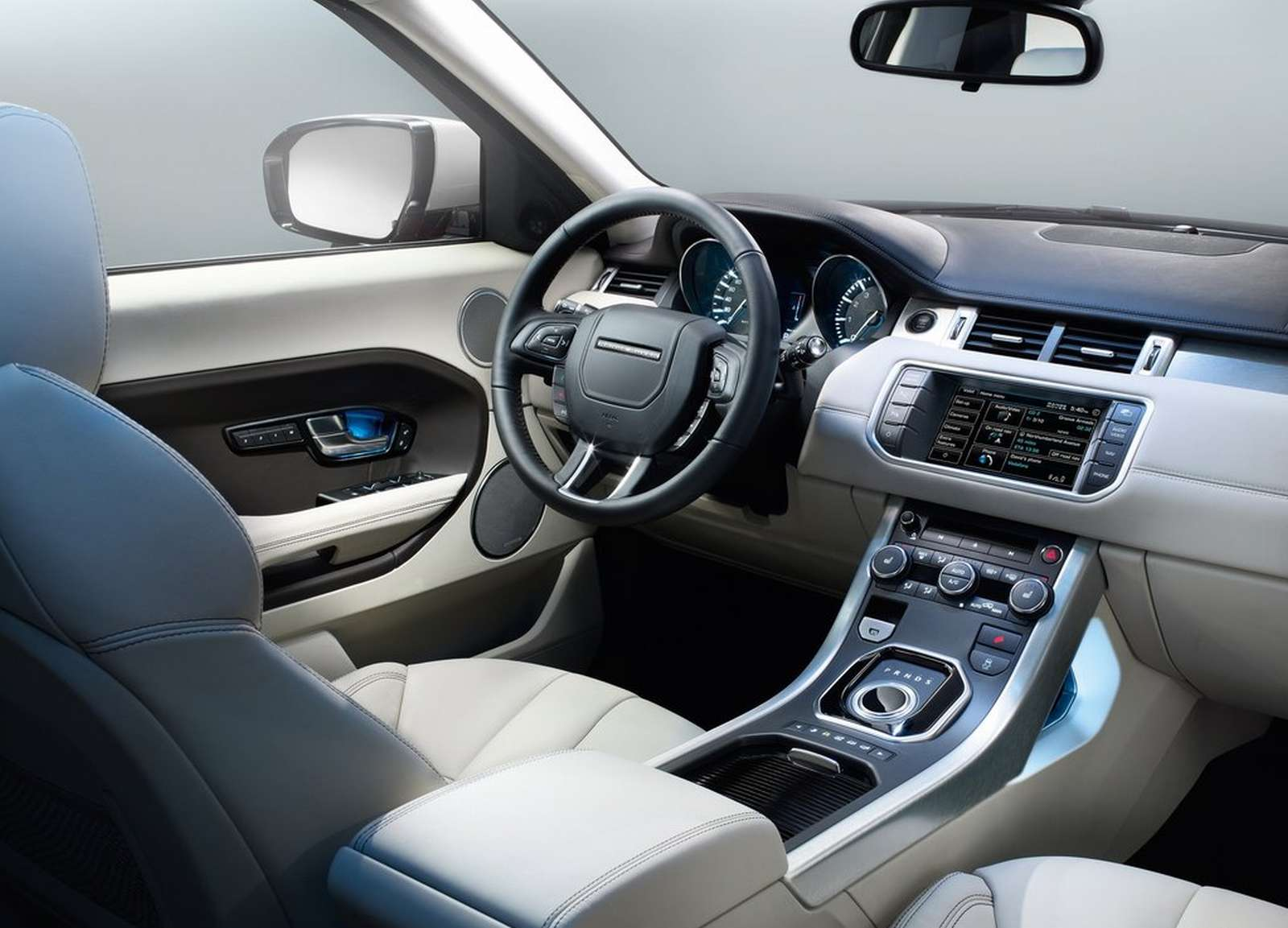 Automotivegeneral 2019 Range Rover Evoque Interior Wallpapers