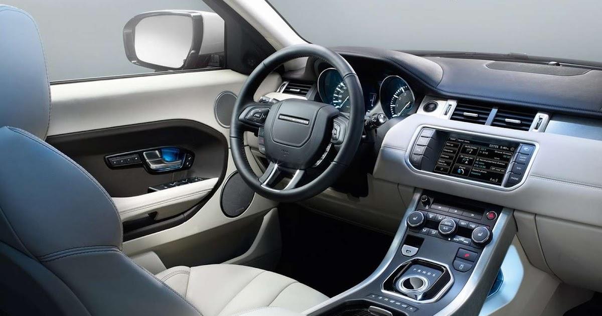 Range Rover Evoque 2017 Interior >> automotivegeneral: 2019 range rover evoque interior wallpapers