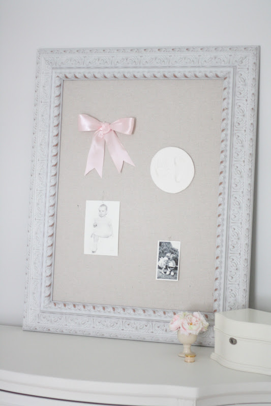 Shabby Chic Pinboard - Julie Blanner