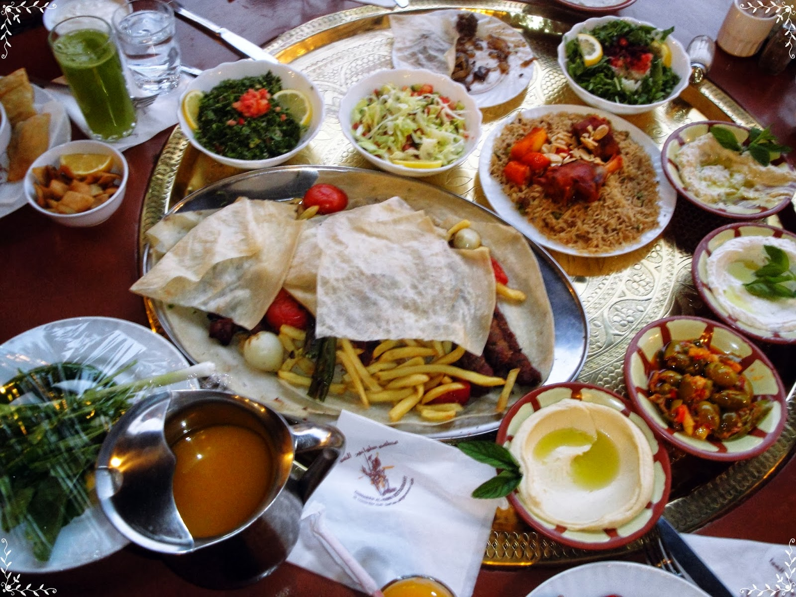 Jordanian Food Petra Nights Tours Jor...