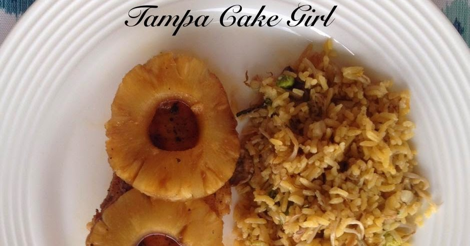 ... ... What's for Dinner?: Guest Post~ Tampa Cake Girl Pineapple Chicken