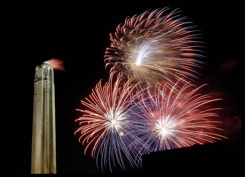 Patriotic Fireworks  High Stepper  500 Gram MultiShot