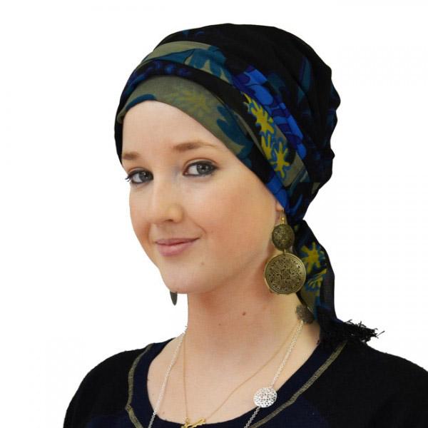 """Comment attacher un foulard - façon turban """"graphique""""?"""