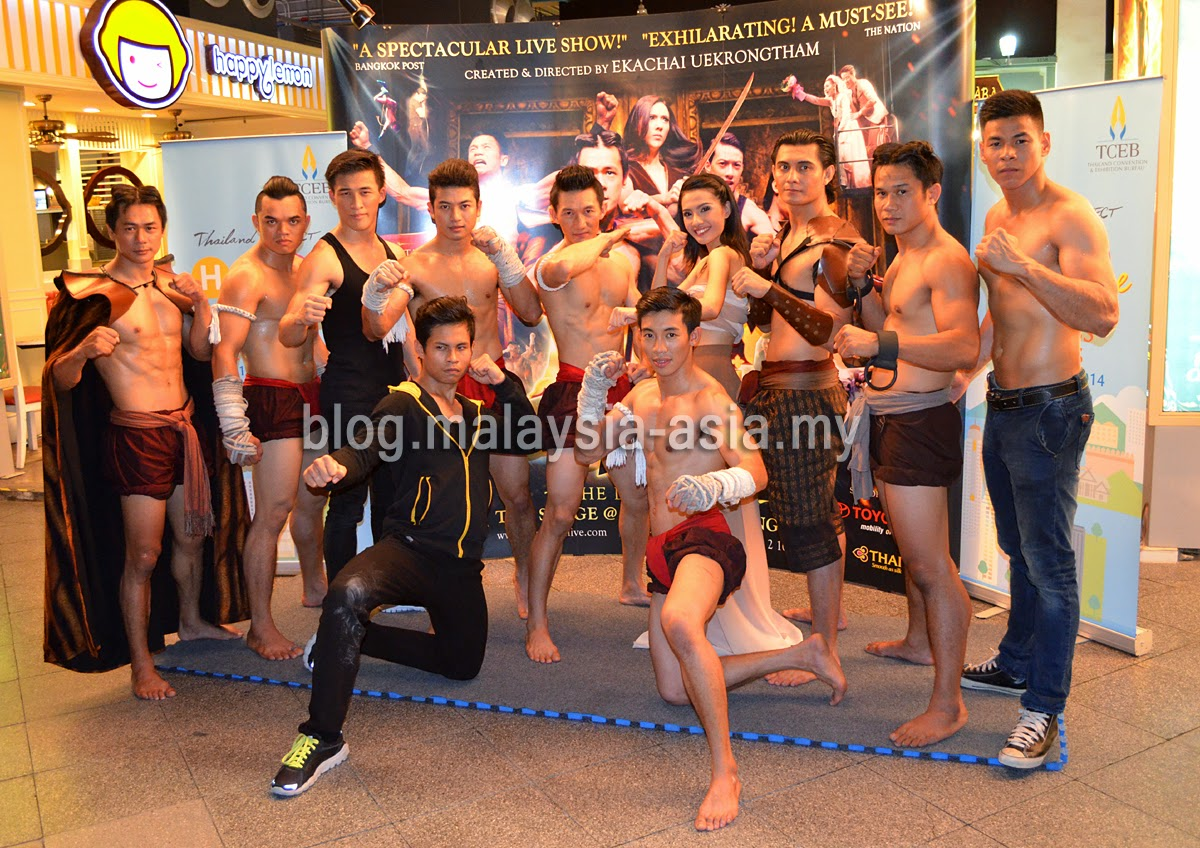 Muay Thai Live Actors and Actresses