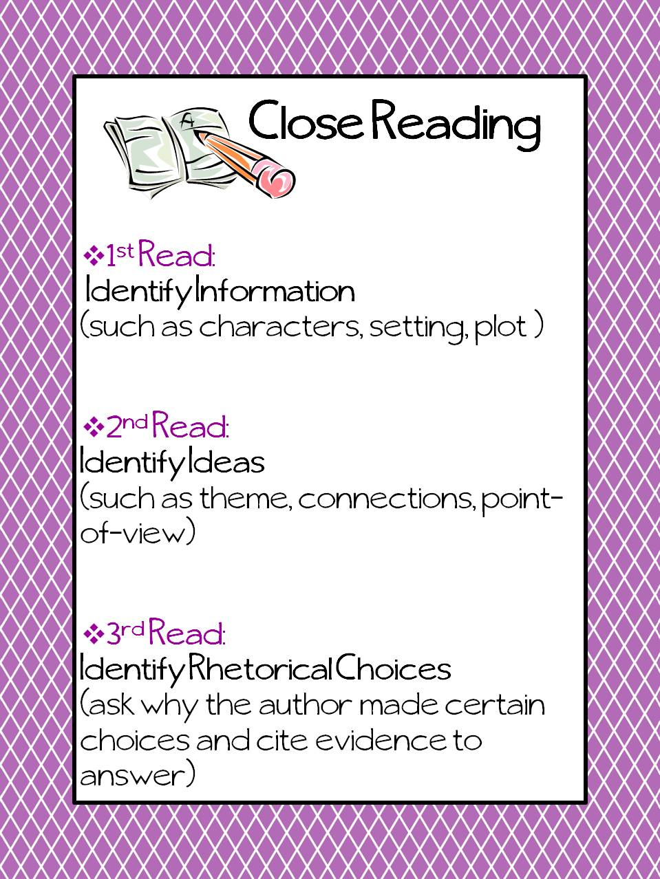The Inspired Classroom Close Reading