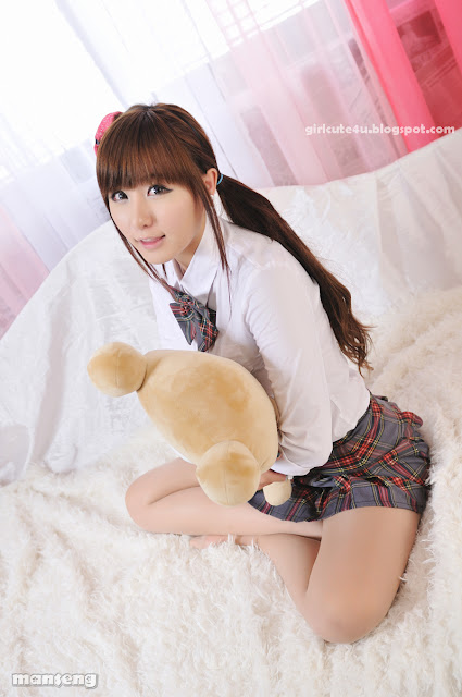 4 Ryu Ji Hye-School Girl-very cute asian girl-girlcute4u.blogspot.com