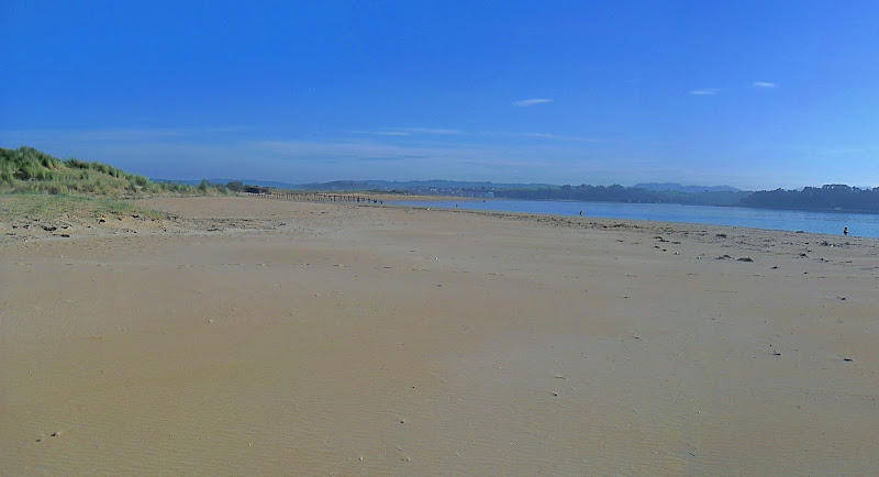 Playa del Puntal a la Bahía de Santander