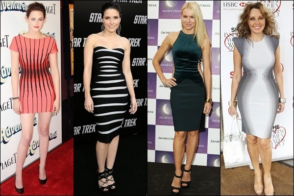 Which dresses make you look slimmer