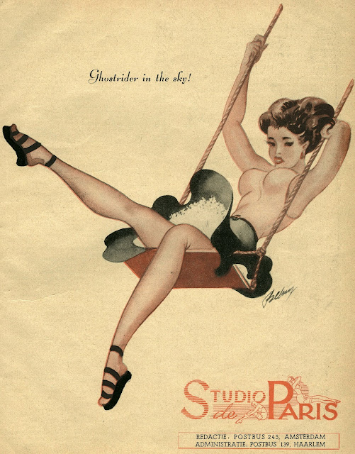 Dutch pulp magazine Studio de Paris
