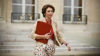 La ministre de la Santé, Marisol Touraine, le 18 septembre 2013 à la sortie du Conseil des ministres, au palais de l'Elysée à Paris