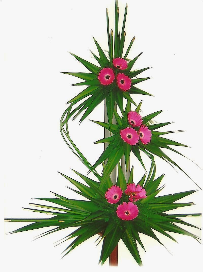 Một số mẫu cắm hoa nghệ thuật khác