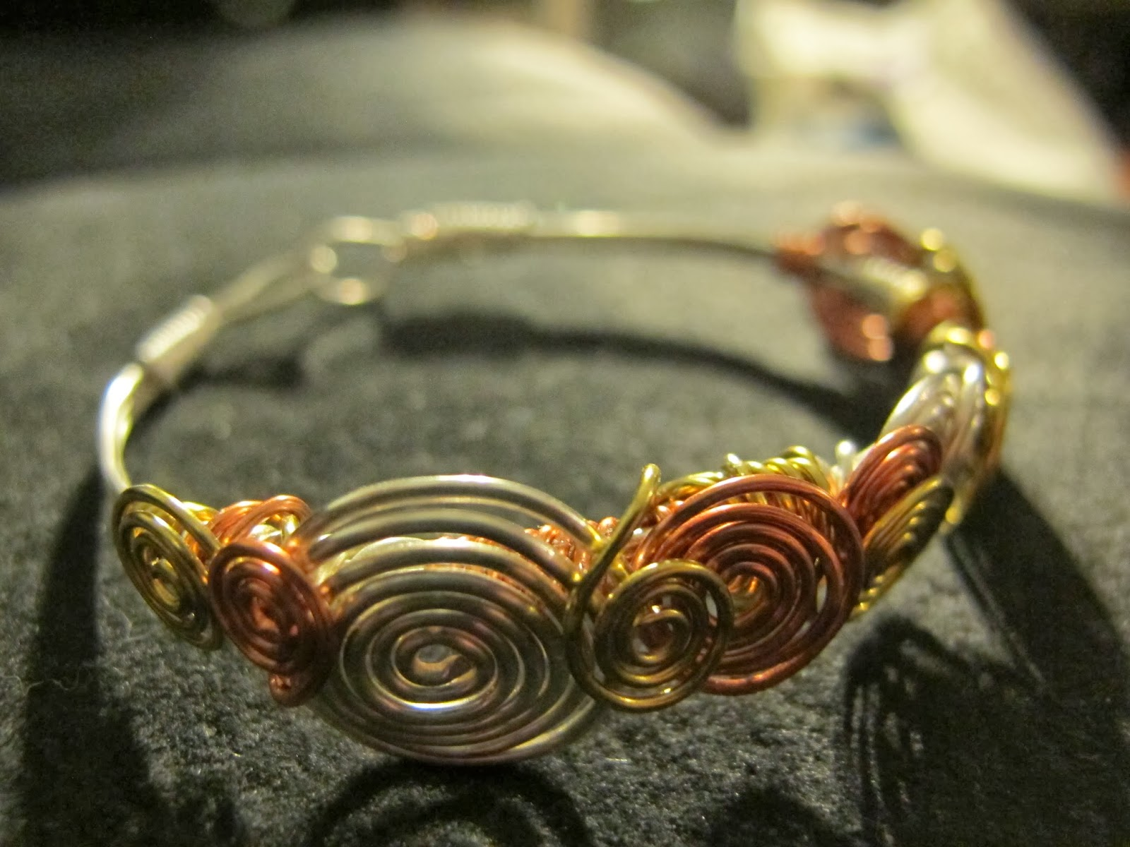 Naomi\'s Designs: Handmade Wire Jewelry: Mixed Metal Wire Wrapped ...