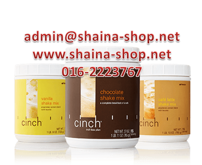 CINCH SHAKE MIX SHAKLEE