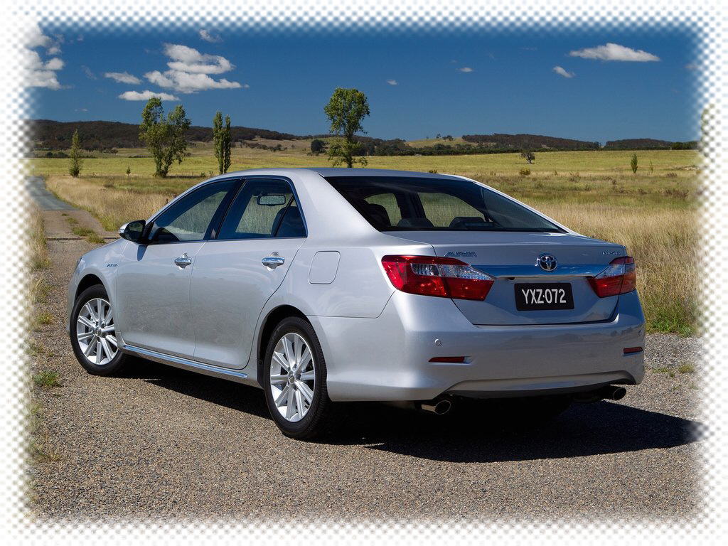 2012 Toyota Aurion photo gallery