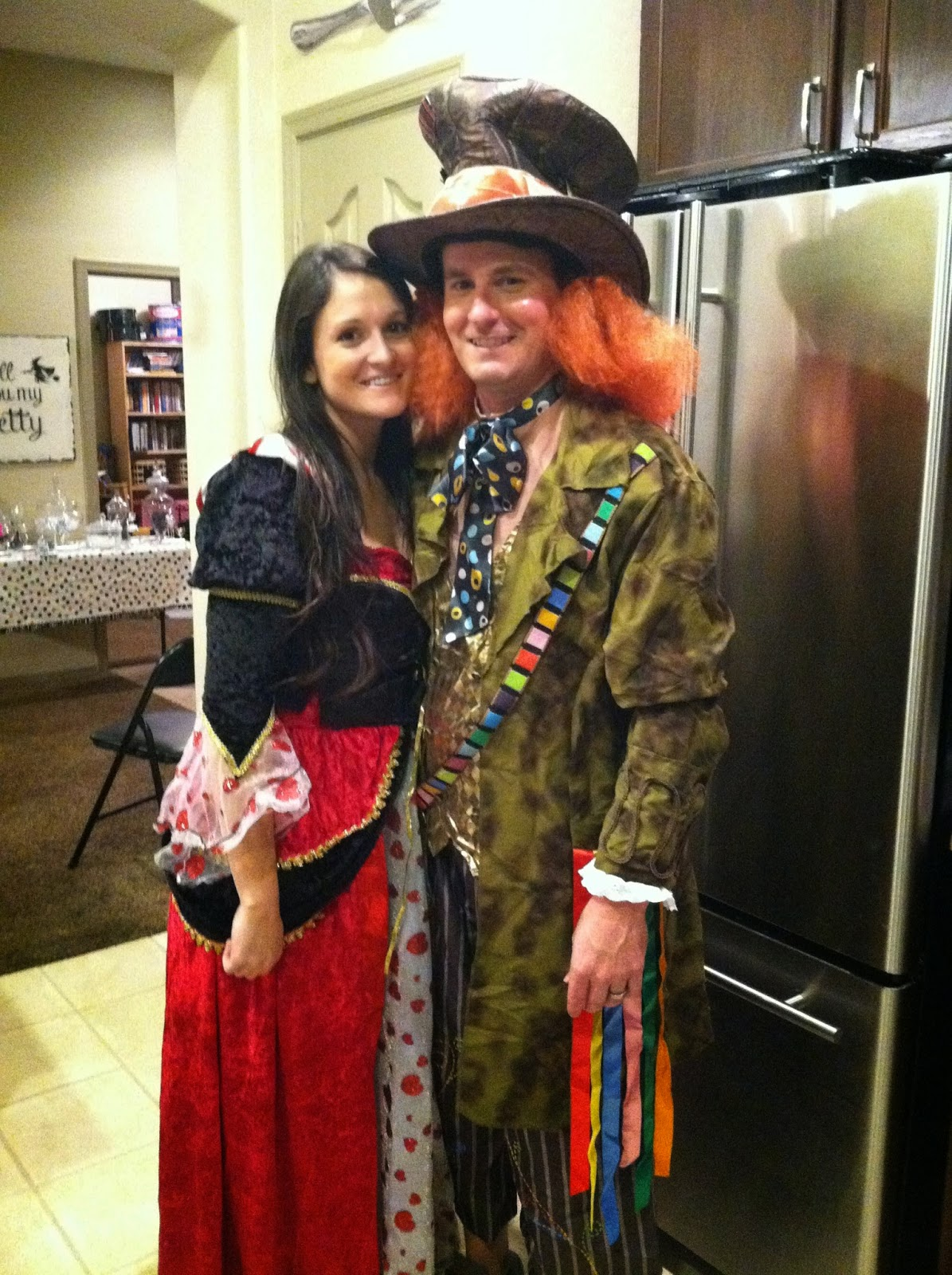 Mad Hatter Queen of Hearts  sc 1 st  Made It. Ate It. Loved It. & Adult Costume Ideas u2013 Made It. Ate It. Loved It.