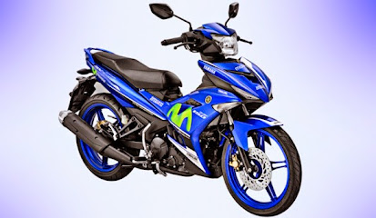 Tampilan Warna MX King 150 Livery Movistar Yamaha MotoGP