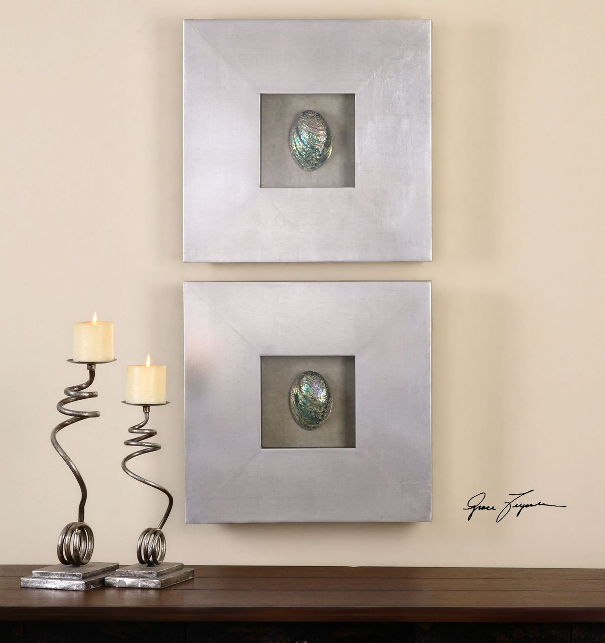 Silver wall decor at home and interior design ideas pictures gallery of silver wall decor unique everything coastal amipublicfo Choice Image