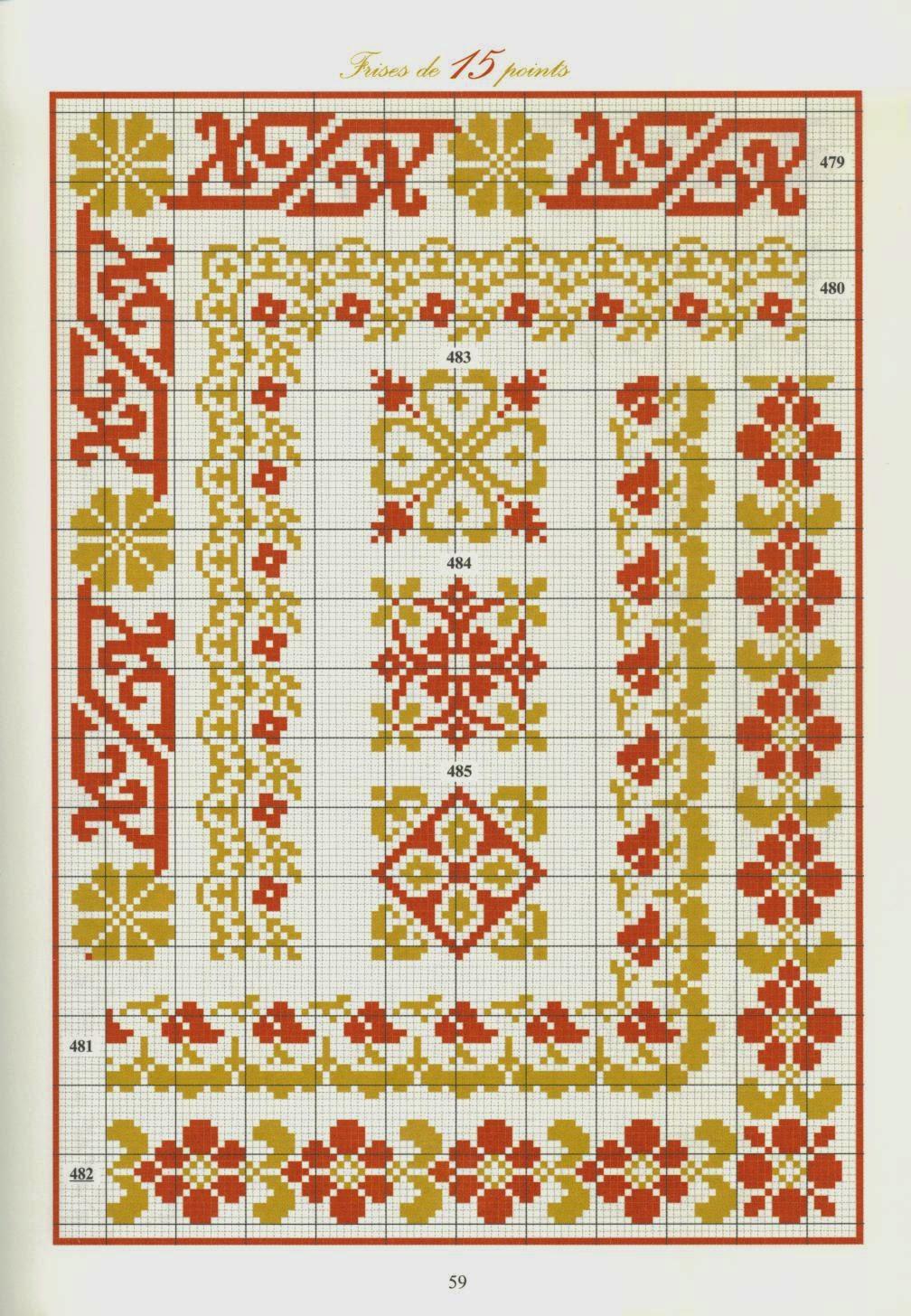 Вышивка крестом орнамент схемы - Поиск в Google вышивка 100