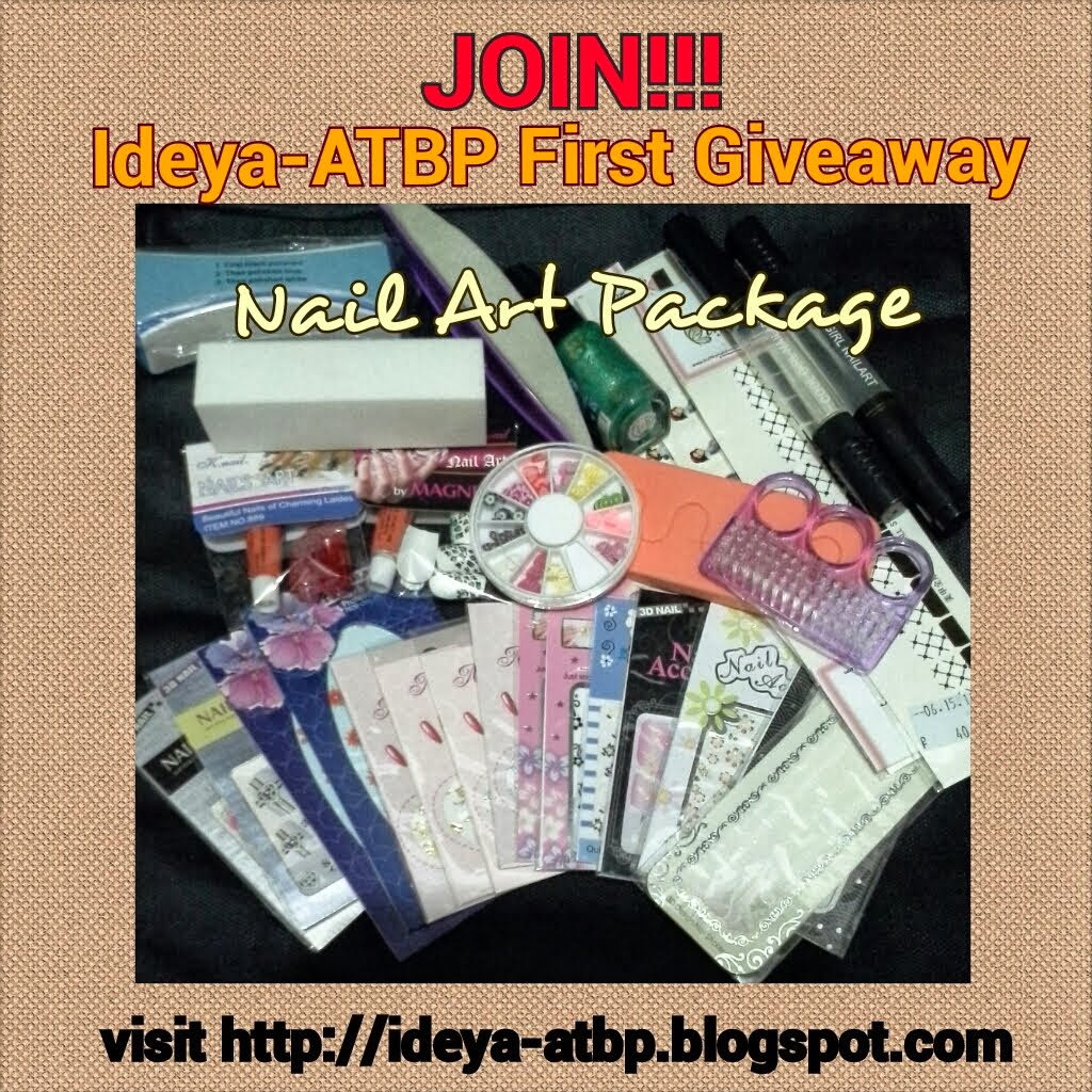 NailArt Package Giveaway!