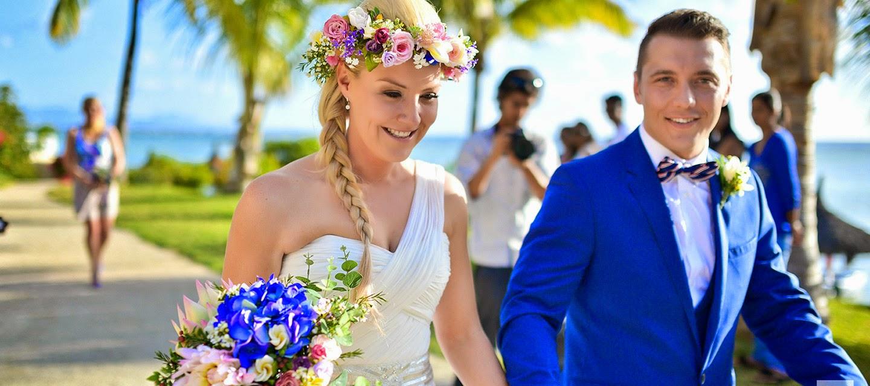 celebra tu aniversario de boda en el hotel le mauricia beachcomber