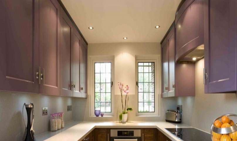 Home design recessed lighting for small kitchen ceiling ideas - Small kitchen lighting ideas ...
