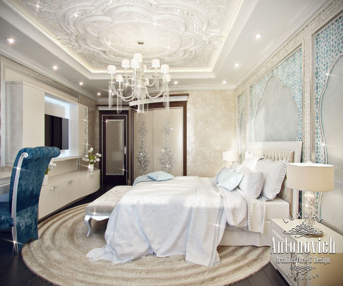Luxury antonovich design uae moroccan style in the for Style o bedroom sax