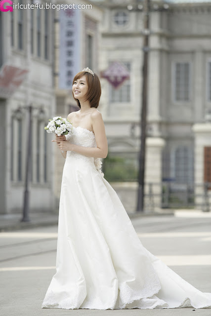 3 Kang Yui - Wedding Dress-very cute asian girl-girlcute4u.blogspot.com