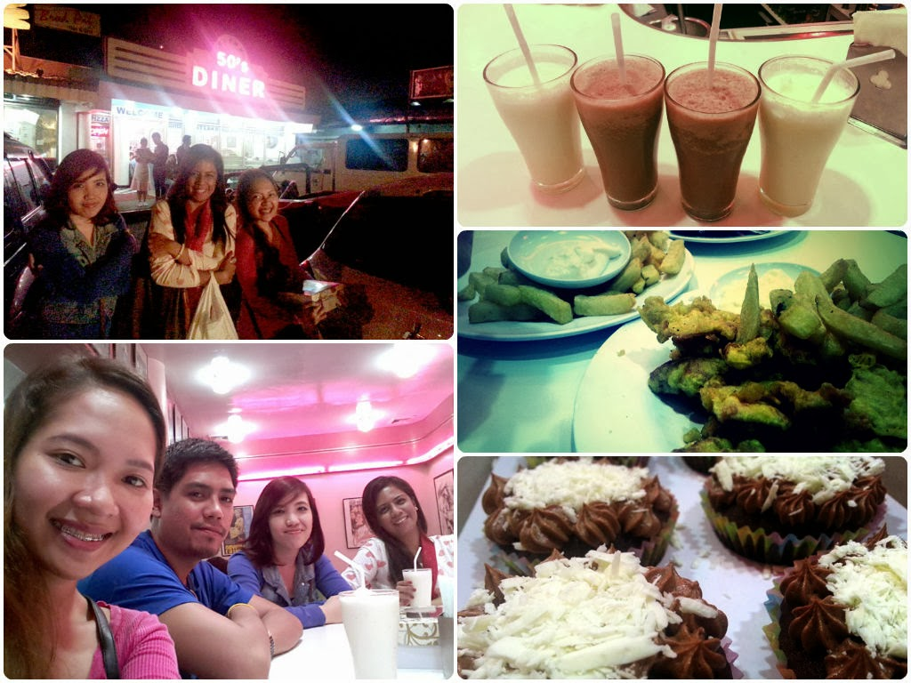 where to go in Baguio, 50s Diner Baguio, 50s diner menu, 50s diner milkshake