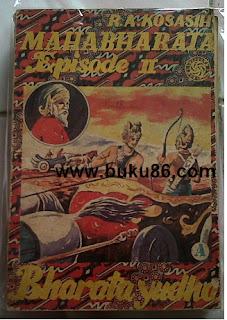 komik Seri Mahabharata Bharata Yudha RA Kosasih