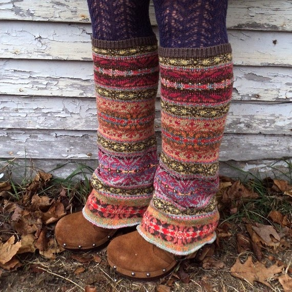 Cute, Stylish and Colorful Boot Socks for Winter and Autumn