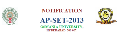 AP SET 2013, SET, SET 2013 Syllabus 2013, apset online application, AP State Eligibility Test 2013 hall tickets download