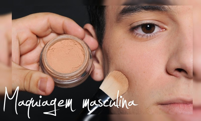 Maquiagem masculina