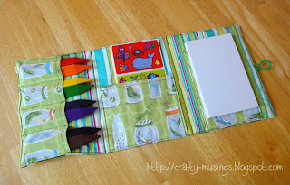 Turtle coloring wallet, open view