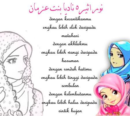 kecantikan muslimah