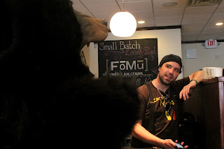 MassBytes: Dex Ter and Vegan Bear at FoMu Ice Creamery
