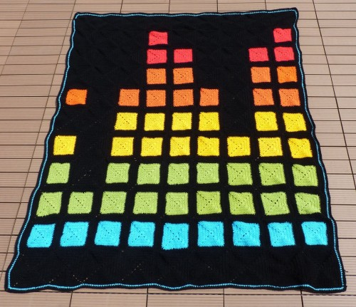 Equalizer Blanket - Free Pattern