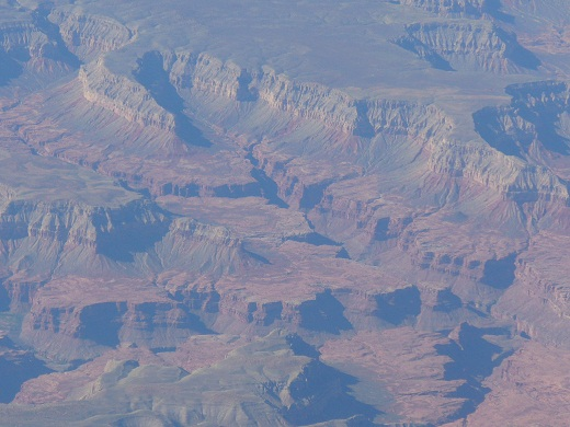 Aerial view grand canyon Phoenix