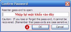 Office tips Hướng dẫn đặt mật khẩu bảo mật cho file Word và Excel