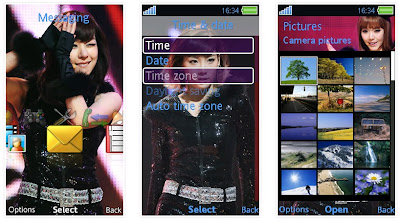 少女時代SonyEricsson手機主題for Aino Style2﹝240x432﹞