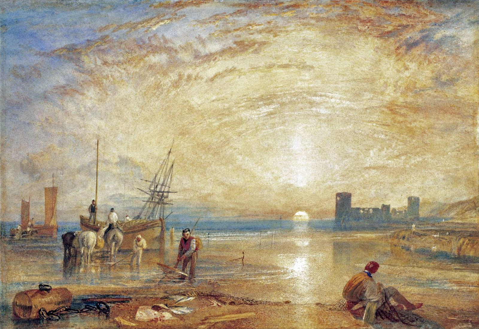 Victorian British Painting: Joseph Mallord William Turner - Castles, ctd