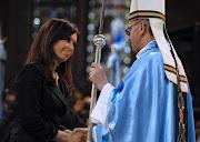 . Néstor Kirchner y con su esposa y sucesora Cristina Fernández de . la presidenta argentina cristina fernandez felicito hoy jorge mario bergoglio el nuevo papa francisco